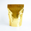 Shiny Gold Stand Up Pouch with Zipper 1