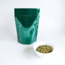 Shiny Green Stand Up Pouch With Zipper 2